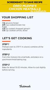 chicken meatballs for dogs recipe tastemade