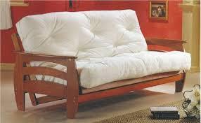 oak futon sofa bed futons and mattress starting at 169 00