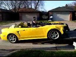 Black Mustang Crash Wrecked 2001 Zinc Yellow Mustang Cobra Youtube