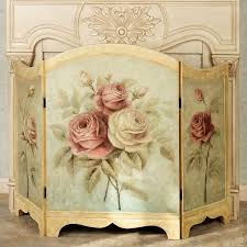 Shabby Chic Fireplace Mantels by Best 25 Decorative Fireplace Screens Ideas On Pinterest