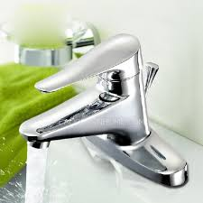 Single Handle Bathroom Sink Faucet by Simple Design Two Holes Single Handle Bathroom Sink Faucets