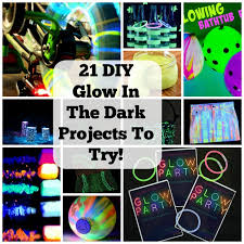 21 Clever Glow In The Dark Party Ideas Your Kids Would Love