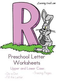 free preschool letter r worksheets learning 2 walk