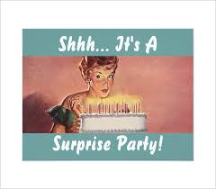 12 outstanding surprise party invitations u0026 designs free