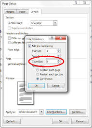 Count Words In A Document In Wordpad How To Add Line Numbers To A Word Document Libroediting