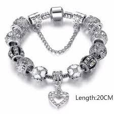 silver charm bead bracelet images Antique silver charms beads bracelet proud girl jpg