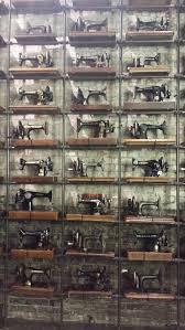 vintage sewing machines on display accuquilt accuquilt