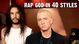 Eminem Rap God Meme - eminem rap god performed in 40 styles ten second songs youtube