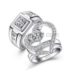 rings custom wedding images Custom bridal wedding rings set with personalized engraving jpg
