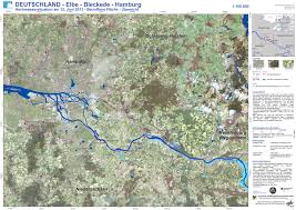 Hamburg Germany Map by Germany Floods 2013 Disaster Extent P45 Elbe Bleckede