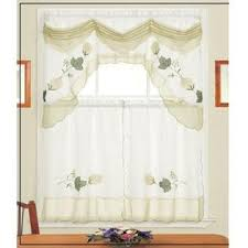Grape Kitchen Curtains by Vineyard Grapes Embroidered Kitchen Curtains Amp Valance