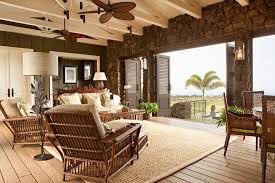 plantation homes interior design powder room decor living room tropical with wood floors view