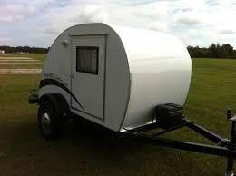 Teardrop Camper With Bathroom The Simple Sleeper Teardrop Camper By Trekker Trailers