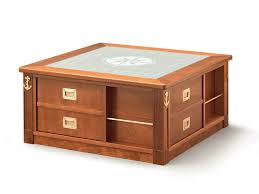 Clock Coffee Table Lounge Clock Coffee Table With Integrated Magazine Rack By Caroti
