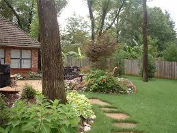 Backyard Plants Ideas Backyard Landscape Hardscape Ideas In Tulsa