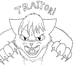 warrior cat coloring pages coloring