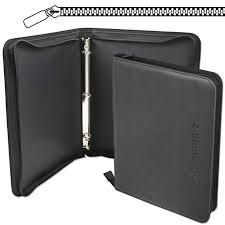 binder photo album zipper binder lx black