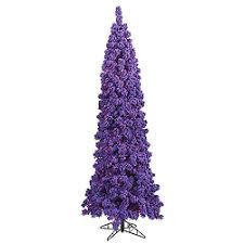search purple artificial tree christmastopia