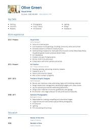artist resume templates cv template artist pertamini co