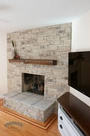 this style of stone is our old ledge stone veneer the beam mantel