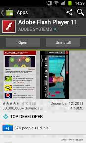 adobe flash player 11 1 for android flash player 11 1 apk for android phones
