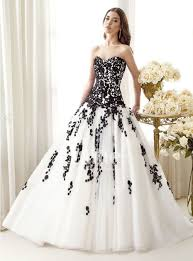 white dress for wedding black and white wedding dresses obniiis com