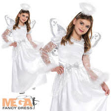childrens angel costume angel fancy dress ebay