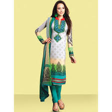 Buy Set Of 4 Embroidered Pakistani Dress Material 4emp1 Online