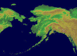 A Map Of Alaska by Alaska Mountain Weather