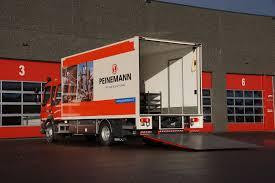 volvo truck service custom made dry freight bodies ebo van weel