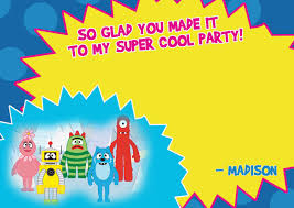 Yo Gabba Gabba Images by Yo Gabba Gabba Thank You Notes Thank You Notes Yo Gabba