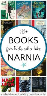 magical books like narnia for