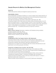 resume objective resume objective science exles resume objectives for management