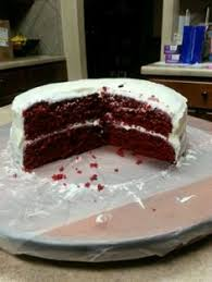 gluten free red velvet cake not dairy free or egg free but you