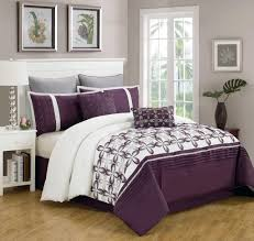 Gray And White Bedroom Gray And Purple Bedding Product Choices Homesfeed