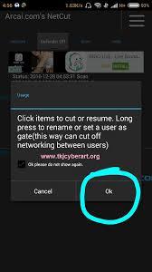 tutorial cara pakai netcut cara menggunakan netcut di android tkj cyber art