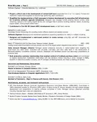 Software Engineer Resume Example by Resume Examples Software Engineer Resume Template Senior