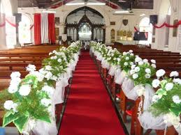 Church Decorations For Wedding Red Church Wedding Decorationswedwebtalks Wedwebtalks