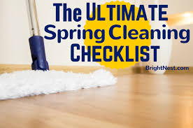 brightnest the ultimate spring cleaning checklist