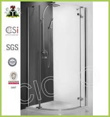 china cicco new fashion tempered glass shower door plastic seal