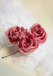 flower hair pins bridal hair pins hair pins bridal pins flower hair pins