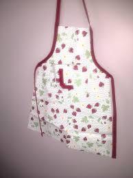couture tablier cuisine tablier de cuisine pour enfant les chouettes moments de julie