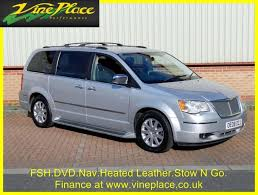 used 2008 chrysler grand voyager 2 8 crd limited 5d 161 bhp for