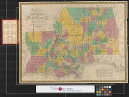 Maps Of Louisiana Map Of Louisiana Mississippi And Alabama Constructed From The