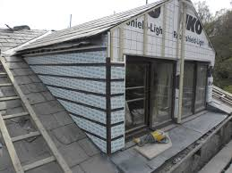 re roofing natural blue slate roof u0026 re cladding dormers cragg