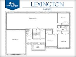 lexington home design rambler style home by nilson homes