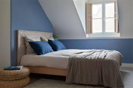 peinture chambre gris et bleu chambre a coucher gris et bleu mobilier décoration