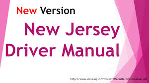 dmv manual book new jersey driver manual 1 driver test tip dmv mvc youtube