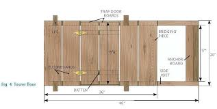 House Blueprints Free Tree House Plans For One Tree The U0027 Tree House Plans For One