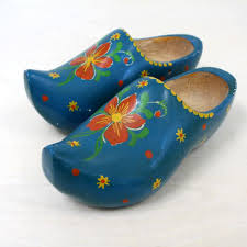 ugg boots sale netherlands vintage blue wooden shoes and windmill